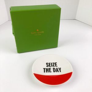 """Kate Spade Seize The Day Ring Dish 3.5"""""""